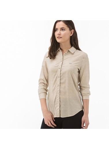Lacoste Kadın  Gömlek CF0901.01A Bej